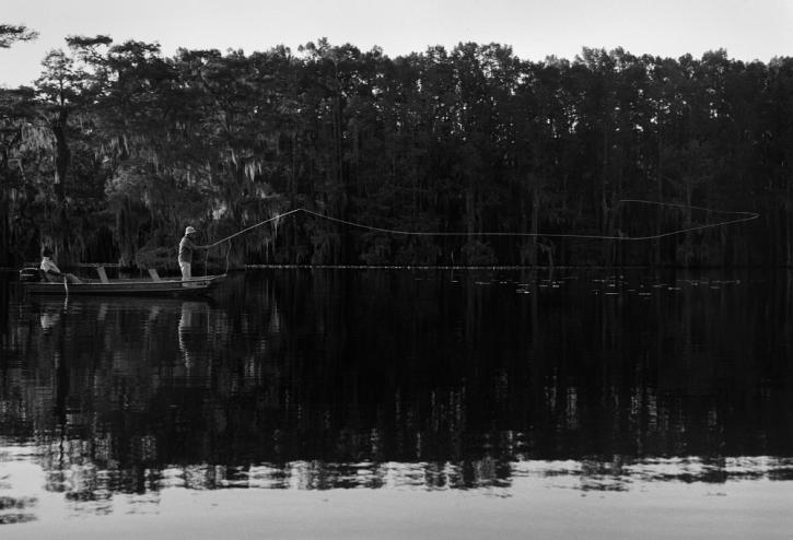 Long Cast, Caddo Lake Texas - Pigmentdruck