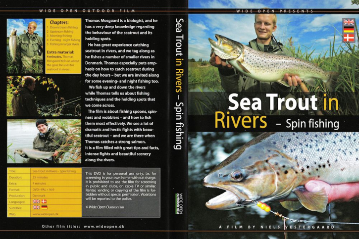 Sea Trout in Rivers - Spin Fishing - DVD