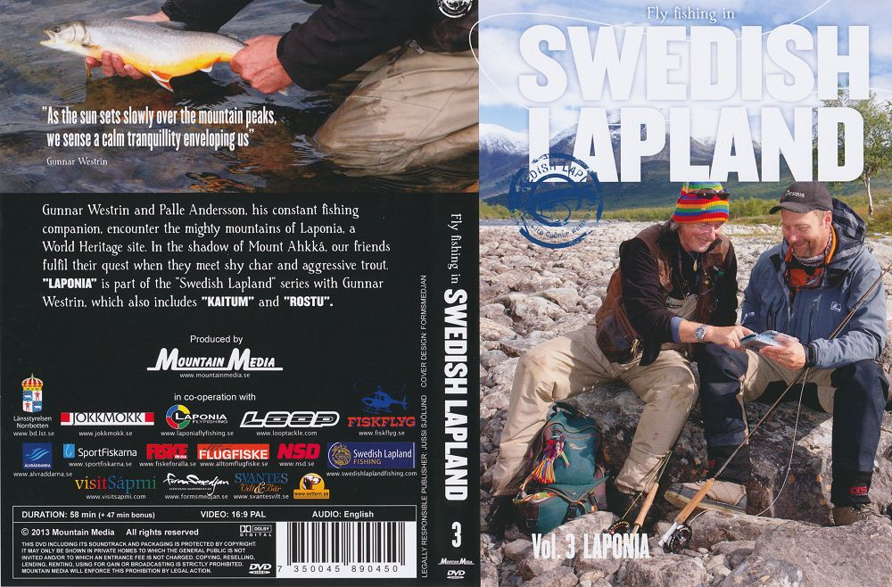 Fly-fishing in Swedish Lapland, Vol. 3 Laponia - DVD