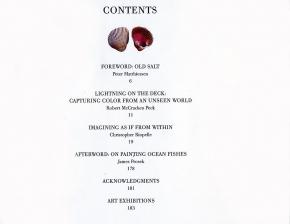 Ocean Fishes - Buch von J. Prosek, limitierte Auflage