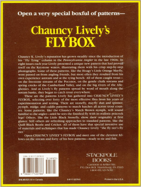 Chauncy Lively's Flybox – A Portfolio of Modern Trout Flies