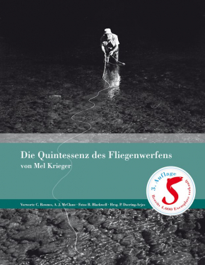 The Essence of Flycasting (German ed.) - Mel Krieger's book