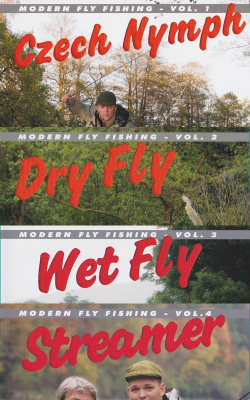Modern Fly Fishing Volume 1 bis 4 - DVD