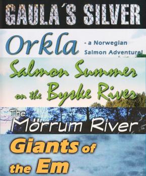 Skandinavische Lachs- und Meerforellenflüsse - 5 DVDs