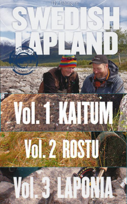 Fly-fishing in Swedish Lapland - 3 DVDs