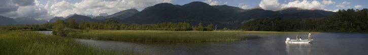 Mel Krieger on Lago Espejo - Digital colour print