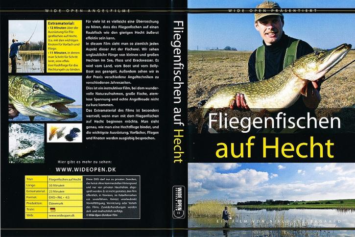 Fliegenfischen auf Hecht - DVD