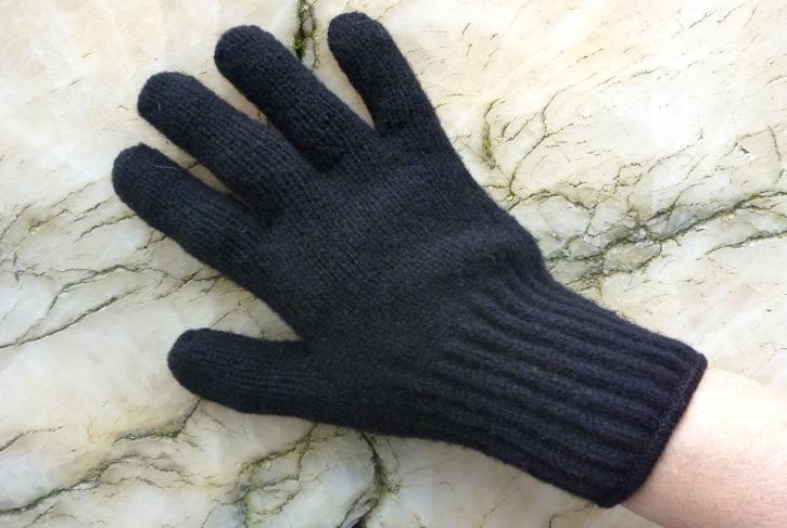 Bison-Handschuhe mit Fingern  M