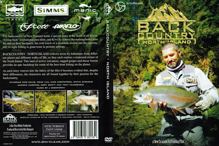 Backcountry - North Island- DVD