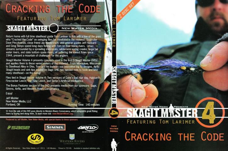 Skagit Master Vol. 4 featuring Tom Larimer - 2 DVDs