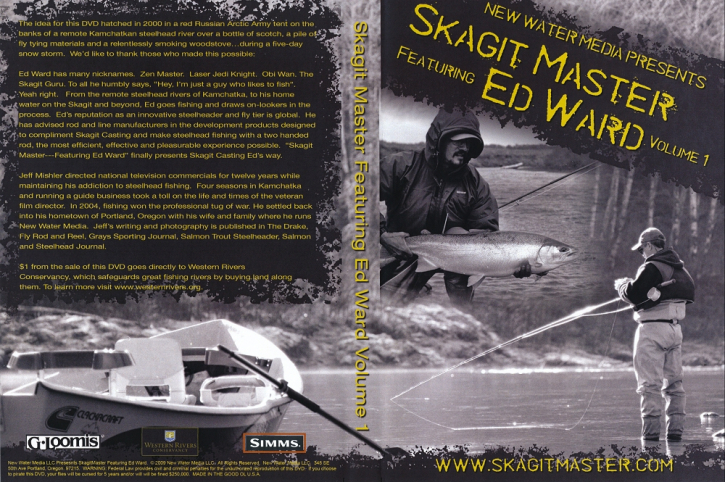 Skagit Master Vol. 1 featuring Ed Ward - DVD