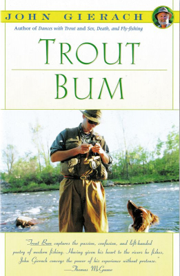 Trout Bum - Book - John Gierach